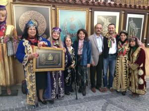Sanatçı Murat ATEŞ ile birlikte.